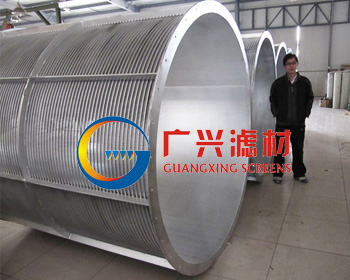 rotary drum screen
