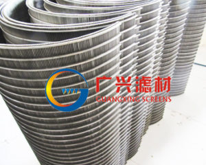 wedge wire curve screen