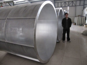 rotary drum filter screen