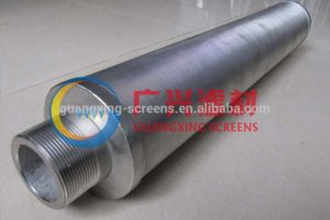 Wedge Wire Candle Filter screen
