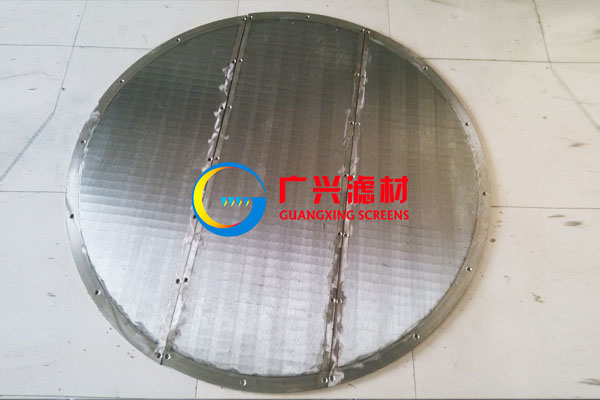 stainless Steel Wire Material wedge wire screen for mash tun for beer