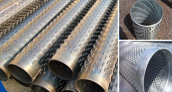 ASTM A 312 stainless steel 316L Perforated Casing screen Pipe