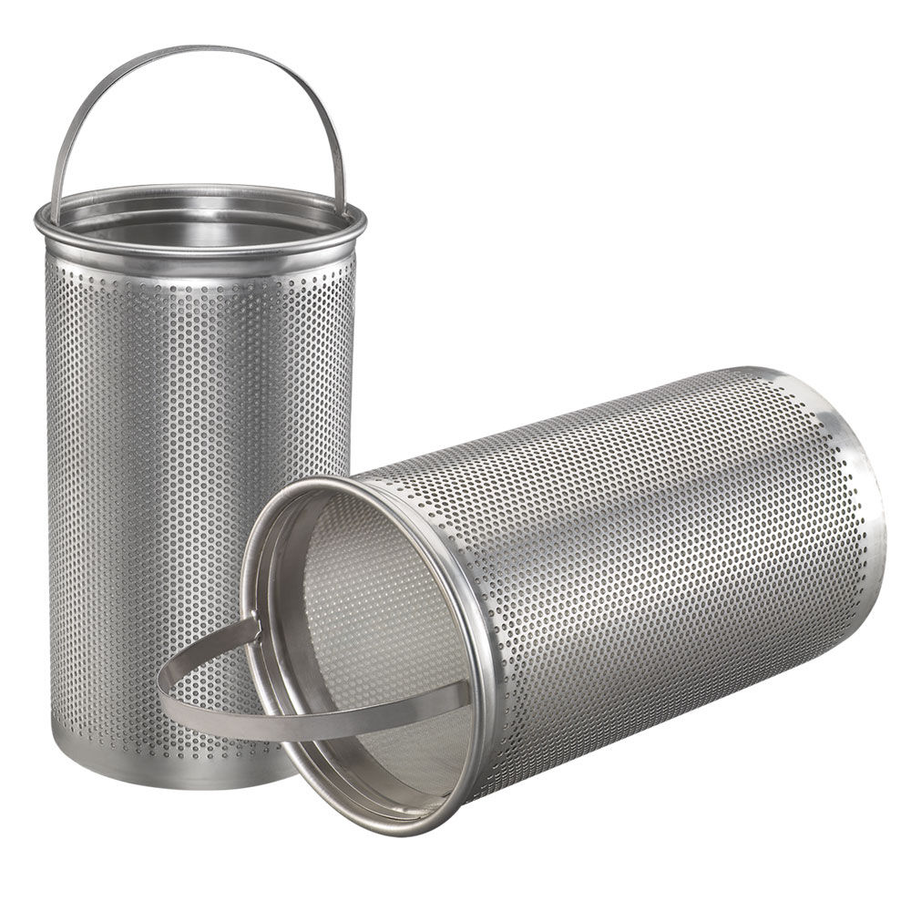 The difference basket screen filter vs wedge wire